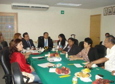 Presentan a diputados trabajo en materia de seguridad y en temas relacionados con delitos contra la mujer, en Oaxaca