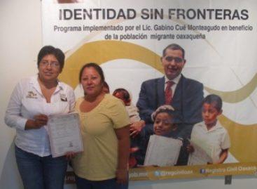 Inicia Registro Civil de Oaxaca Identidad sin Fronteras en California, Estados Unidos