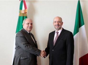 Analizan funcionarios de Italia-México nuevos contenidos y estrechar asociación estratégica