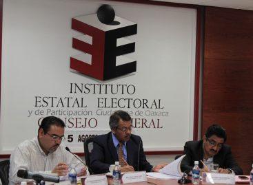Permanece IEEPCO pendiente de la renovación de autoridades en 417 municipios de Oaxaca