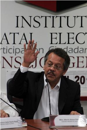 Presidente del Instituto Estatal Electoral y de Participación Ciudadana de Oaxaca
