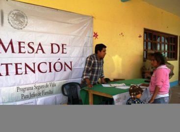Inicia Sedesol inscripción al Seguro de Vida para Jefas de Familia en Oaxaca