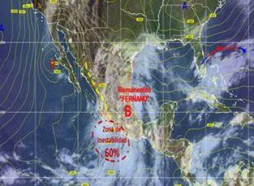 Posible nuevo huracán en el Pacífico