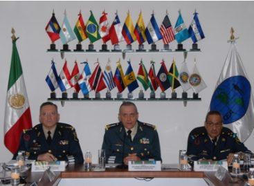 Realiza Ejército y Fuerza Aérea mexicanos videoconferencia con miembros de la Conferencia de Ejércitos Americanos