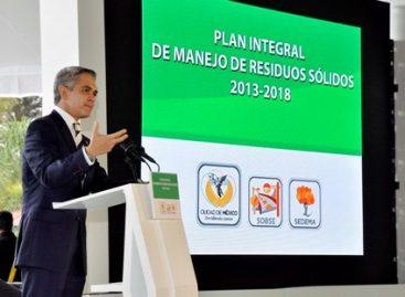 Presentan Plan Integral de Manejo de Residuos Sólidos 2013-2018 en la Ciudad de México