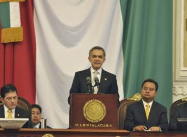 Se consolida GDF como Gobierno de Izquierda, moderno, progresista e innovador: Mancera Espinosa
