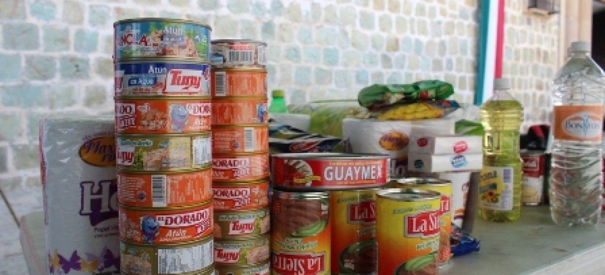 Abren Derechos Humanos y Ayuntamiento de Oaxaca centros de acopio de víveres para damnificados por lluvias