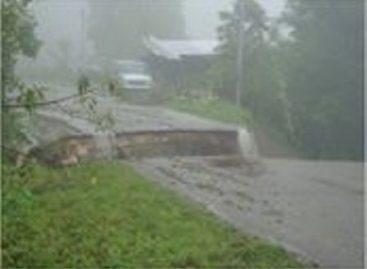 """Provocan """"Ingrid"""" y """"Manuel"""" severos daños a la red carretera federal en Oaxaca"""