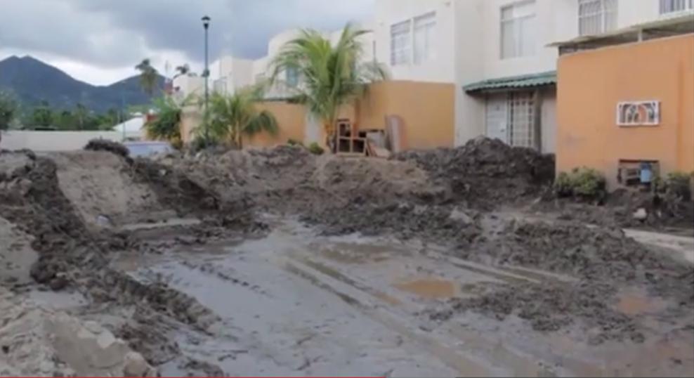 Daños por inundaciones en Acapulco