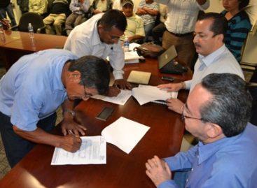 Signan Puxmetac?n y Otzolotepec Acuerdo de Civilidad por conflicto agrario: Segego