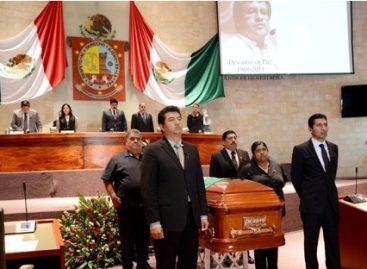 Investigación eficaz y eficiente del asesinato del diputado del PRD, exige Congreso de Oaxaca