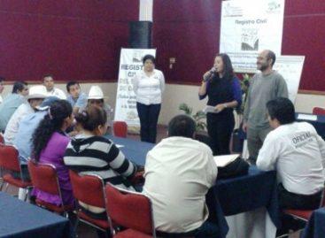 Suma Registro Civil 21 municipios de atención prioritaria en la lucha contra el subregistro en Oaxaca