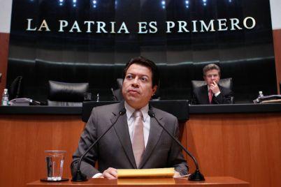 Senador Mario Delgado Carrillo