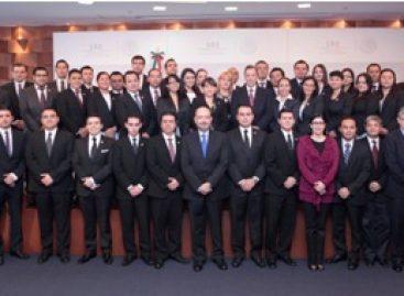 Ingresan al Servicio Exterior Mexicano de carrera nuevos miembros de la rama Técnico-Administrativa