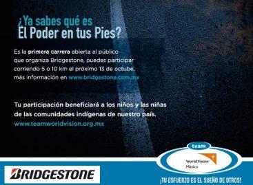 Convocan a la Carrera Team World Vision & Bridgestone; apoyan a comunidades veracruzanas