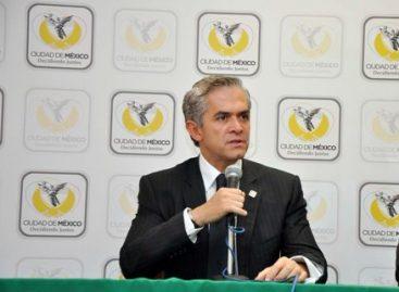 Pide Mancera a Banobras, incluir a la CDMX en el listado de entidades financiadas para transporte público sustentable