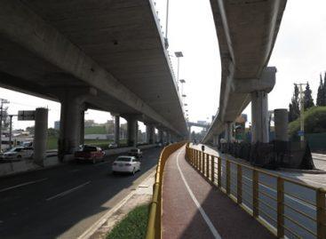 Avanza construcción de puente ciclista y peatonal; Tendrá acceso para personas con discapacidad