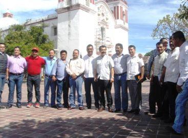 Conforman alianza ediles del PRD en el Istmo preside Saúl Vicente de Juchitán