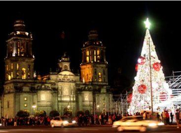 Inician festejos decembrinos en la Ciudad de México; Se cumplen 50 años de esta tradición