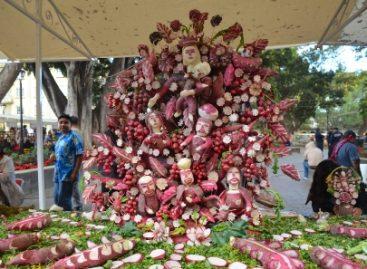 Festeja Oaxaca Noche de Rábanos; Cumple tradición artesanal 116 años