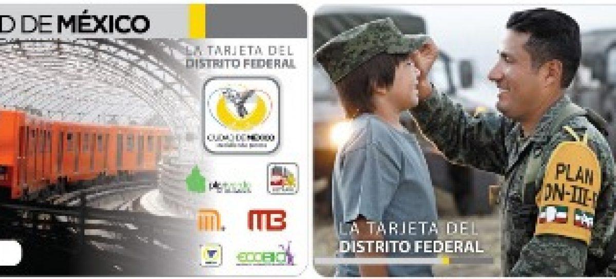 Celebra Ejército Mexicano centenario con tarjeta de edición especial del Metro