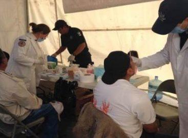 Implementa Comisión Nacional de Seguridad jornadas de labor social en apoyo a habitantes de Michoacán