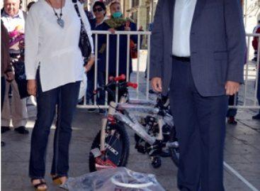 Arranca Kilómetro del Juguete en Oaxaca; Colabora Municipio capitalino con Reyes Magos