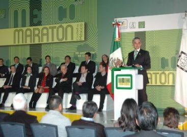 """Presentan Maratón de la Ciudad de México 2014 """"Mi ambiente es correr"""""""
