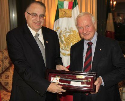 Embajador - Gobernador General de Canadá
