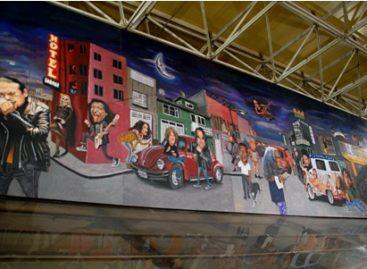 """Con """"Urbanhistorias del rock mexicano I y II"""", vuelve al Metro pintor y muralista Jorge Flores"""