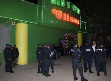 Detenidas tres personas y remitidas 20 en operativo en centros nocturnos de la capital oaxaqueña