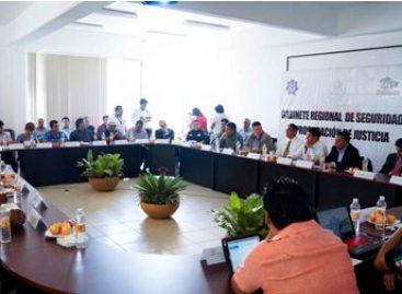 Instalan Gabinete Regional de Seguridad en Valles Centrales, de Oaxaca