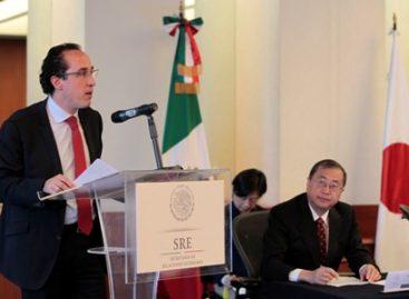 México-Japón celebran 10° aniversario como socios de cooperación hacia terceros países