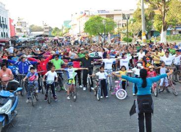 Promueve Ayuntamiento juchiteco actividades físicas entre la población para prevenir enfermedades