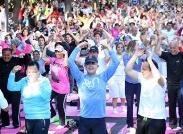 Gran respuesta de la ciudadanía en la Sexta Edición de Yoga en la Ciudad de México