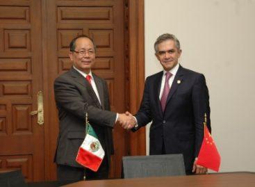 Acuerdan DF y China trabajar en proyectos que impulsen el desarrollo económico