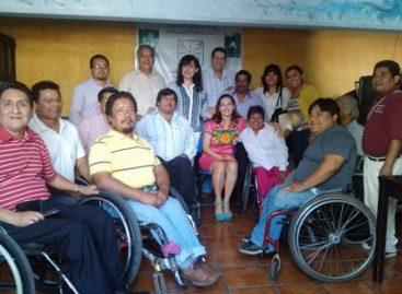 Reitera Ayuntamiento de Oaxaca compromiso con las personas con discapacidad