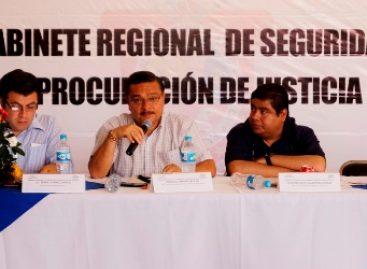 Instalan Gabinete de Seguridad y Procuración de Justicia en la Cañada de Oaxaca