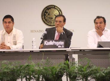 Piden al Senado la inclusión de pueblos y comunidades indígenas en instituciones electorales nacionales