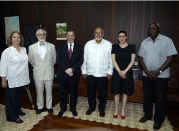 Reforzarán Guyana y México vínculos de cooperación en diversas materias