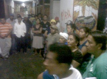 Liberan habitantes de Playa Vicente Palacio Municipal de Juchitán de Zaragoza, Oaxaca