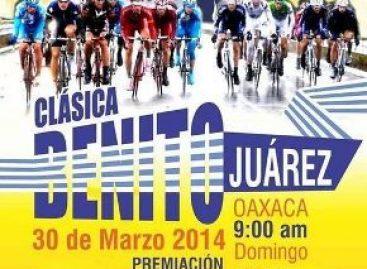 "Realizarán clásica ciclista ""Benito Juárez"" en Oaxaca"