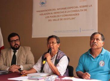 Debe respetarse el derecho de los pueblos y comunidades originarias a la consulta: DDHPO