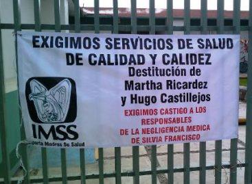 Denuncian a Víctor Pérez del Valle delegado del IMSS Oaxaca por alterar expediente