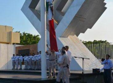 Realiza Pemex actos cívicos en la refinería Antonio Dovalí Jaime y la Terminal Marítima de Salina Cruz
