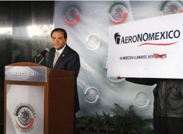 Pide senador del PRD eliminar el nombre de México que utiliza la línea aérea Aeroméxico