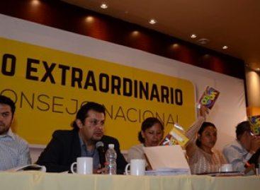 Acuerda PRD método de elección indirecta para renovar dirigencia nacional