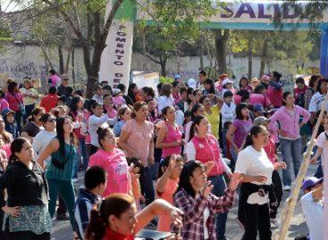 """Realizan 4ª """"Caminata por una vida libre y sin violencia"""" en la Ciudad de México"""