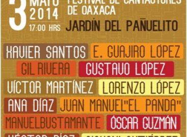 Presenta LICANTO primer gran Concierto de Cantautores de Oaxaca