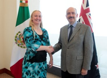 Acuerdan diversificar y enriquecer la agenda bilateral México y Nueva Zelandia